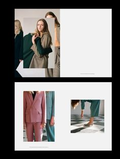 The Frankie Shop Editorial Design, Editorial Layout, Lookbook Layout, Lookbook Design, Website Design Inspiration, Layout Inspiration, Magazine Layout Design, Book Design Layout, Design Design