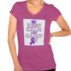 Lupus Keep Calm and Carry ON Tees by www.giftsforawareness.com #lupus #lupusawareness #awareness