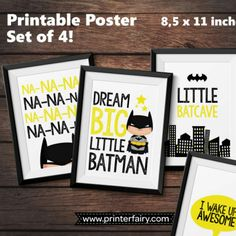 Batman Poster set