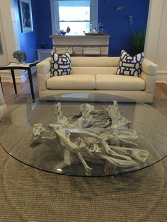Driftwood Decor-home to the world's finest authentic driftwood furniture Driftwood Table, End Tables, Teak, House, Design, Mesas, Home, Haus, Houses
