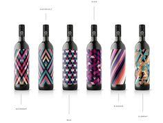 Motif Wine on Packaging of the World - Creative Package Design Gallery Wine Bottle Design, Wine Label Design, Wine Bottle Labels, Wine Bottles, Pinot Noir Wine, Different Wines, Beverage Packaging, Food Packaging, In Vino Veritas