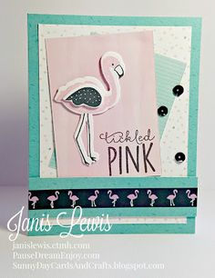 Sunny Day Cards and Crafts: Tickled Pink & Teal