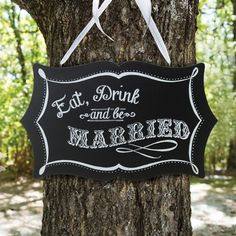 Exclusively Weddings | Vintage Chalkboard Sign for Wedding Reception