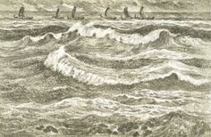 Karl Erik Harr - Den siste viking Scandinavian Art, Vikings, Den, Fine Art, Contemporary, Artist, Painting, Kunst, The Vikings