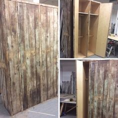 "Silverado's client gave them a mission to create ""the closet of her mother's dreams."" #woodwork #design #interiordesign #woodworking #interiordesigns #interiordesigners #interiordesignideas #architectural #reclaimedwood #reclaimed #woodwork #craftsman #happycustomers #losangeles #la #upcycle #salvaged #antique"