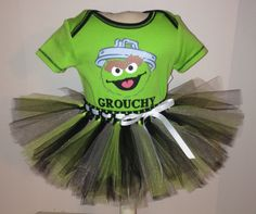 A personal favorite from my Etsy shop https://www.etsy.com/listing/463840306/36-months-muppets-oscar-the-grouch