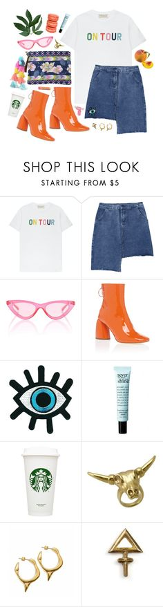 """DAY WEAR - ANGIE ELLA MAY"" by pretty-basic ❤ liked on Polyvore featuring Être Cécile, Le Specs, E L L E R Y, philosophy, Ladurée, Wildfox, Rachel Entwistle, Burt's Bees and Vie Active"