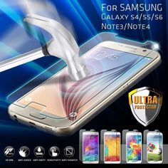 Premium Real Tempered Glass Film Screen Protector for Samsung Galaxy Model  #Samsung