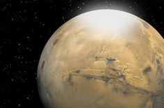 Snow on Mars: NASA Spacecraft Spots 'Dry Ice' Snowflakes Researchers have calculated that carbon dioxide snow particles on Mars are roughly the size of a human red blood cell. Martian snow is depicted in this artist's rendering as a mist or fog that eventually settles to the surface.