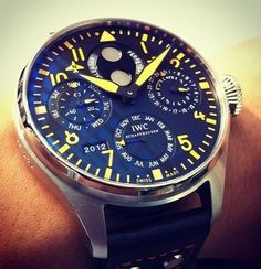 Cool watches:  IWC