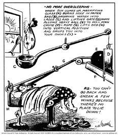 Don't Oversleep, Rube Goldberg