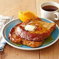 Spiced French Toast   http://www.rachaelraymag.com/recipe/spiced-french-toast/  Yum!! I used giants Nature Promise whole grain bread and it was great.
