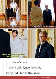 The face says it all.  #Sherlock #MartinFreeman  /  http://saltlakecomiccon.com/slcc-2015-tickets/?cc=Pinterest