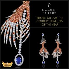 This spectacular piece by Ghanasingh Be True was shortlisted in the Couture Jewellery of the Year category in the Retail Jeweller India Awards, '15, and we take pride in it!