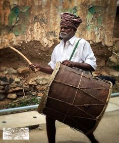 India is a place where you learn to appreciate the unexpected.  Funeral musician.  Tamil Nadu, India.