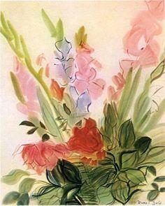 Gladioli - Raoul Dufy