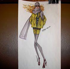 Fashionarium • Étape par étape Illustration de mode tutoriel avec ...