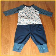 Lunatiek: raglan en broekje voor baby (Ottobre Design)