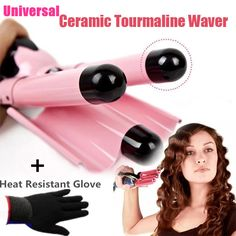 Personal Care Appliances Acevivi High Quality Triple Barrel Wave Curlers Hair Curlers Wave Spring Ceramic Curling Iron Brazilian Body Wave Big Deep Wave Catalogues Will Be Sent Upon Request Home Appliances