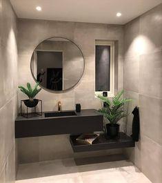 Washroom Design, Bathroom Design Luxury, Modern Bathroom Design, Modern Sink, Kitchen Modern, Design Kitchen, Home Room Design, Dream Home Design, Home Interior Design