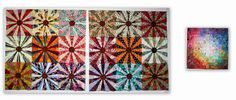 July+quilt+tops.jpg (1484×632). Use new Dresden template (large) to sew this block.
