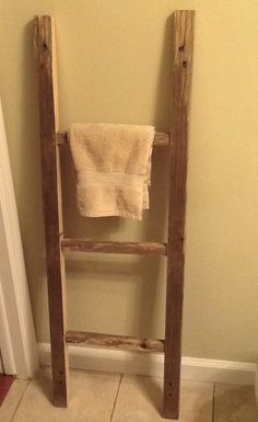 Little ladder from made from pallets. Visit my FB page - AllPalletThings