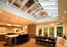 Conservatories, Orangeries, Roof Lanterns, Hardwood, Purpose Built, - Malbrook Bespoke Service - Kitchen Rooms