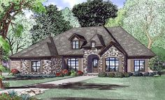 Total Living Area:3415 sq. ft. Covered Porch:235 sq. ft. Bonus Area:747 sq. ft. House Plan chp-54420 at COOLhouseplans.com