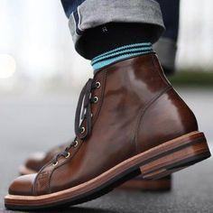 gentlemanuniverse FrankT's gentlemen's manual Sock Shoes, Men's Shoes, Shoe Boots, Leather Men, Leather Shoes, Soft Leather, Brown Leather, Adventure Boots, Basket Sneakers
