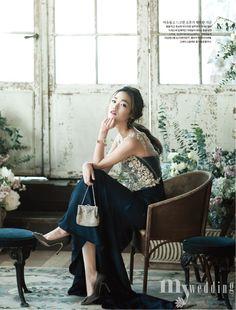 koreanmodel:  Seon Hwang by Kim Bo Ha for My Wedding Korea Feb 2015