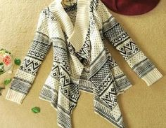 A 080506 Long-sleeved Cardigan Swea..