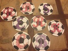 Soccer theme string art!