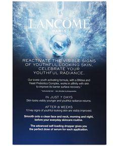Lancôme - 2-Pc. Advanced Génifique Face Serum Set Acupressure Massage, Lancome Paris, Hydrating Serum, Nordstrom, Anti Aging Serum, Younger Looking Skin, Even Skin Tone, Clean Face, Radiant Skin