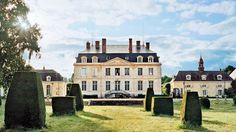 Le Fresne, a French Château, was completed by architect Anatole Amoudru in 1770 | archdigest.com