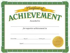 Blank Certificate Of Achievement Template Blank Certificate Of Achievement Template . Blank Certificate Of Achievement Template . Funny Certificates, Perfect Attendance Certificate, Blank Certificate, Certificate Of Achievement Template, Free Certificate Templates, Printable Certificates, Award Certificates, School Certificate, Certificate Design
