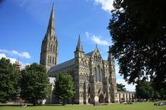 View Of Salisbury Cathedral - Download From Over 47 Million High Quality Stock Photos, Images, Vectors. Sign up for FREE today. Image: 4236658
