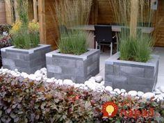Modern Landscaping, Outdoor Landscaping, Front Yard Landscaping, Front Gardens, Outdoor Gardens, Garden Pool, Lawn And Garden, Garden Design Plans, Garden Cottage