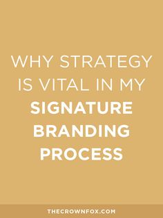 Branding is more than just a logo and a good branding process includes more…