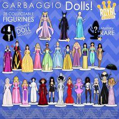 Garbaggio - Garbaggio Dolls: Royal Collection