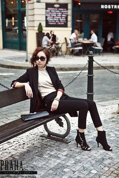 coat, black, fashion
