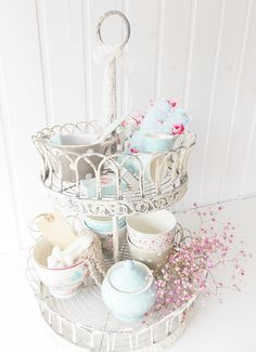 Etagere of greengate