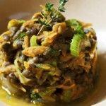 #Estofado ligero de #lentejas du #Puy y verduritas Presentación original para un plato de diario. Sencillo, completo y nutritivo