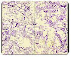 Bryce Wymer Process blog: NY Tour buss { Sketchbook } 2.
