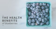 Blueberries are considered a superfood, but why exactly are they so healthy? Here's a look at the nutritional benefits.