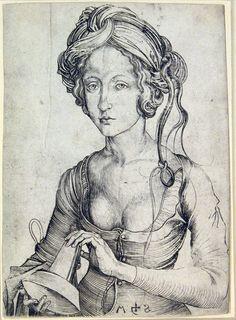 Martin Schongauer  (Colmar, ca. 1450 – Brisach, 1491)   Virgem transtornada / Distressed Virgin