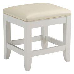 Have to have it. Naples Vanity Bench - White - $68.71 @hayneedle