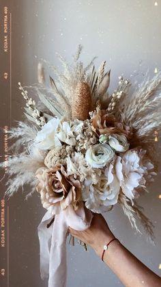 Boho Wedding Bouquet, Floral Wedding, Fall Wedding, Wedding Colors, Dream Wedding, Rustic Bouquet, Wedding Ideas, Wedding Beach, Bride Bouquets