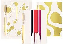 Cynthia Rowley Memo Pad with Pen, Assorted Gold