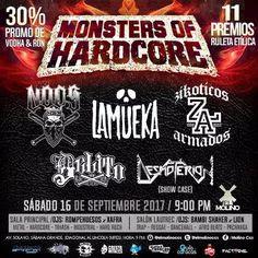 "El Molino presenta: ""Monster Of HardCore"" http://crestametalica.com/evento/molino-presenta-monster-of-hardcore/ vía @crestametalica"