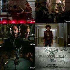 These are the new scenes in the previous trailer #Shadowhunters #S2 . . . .  #ShadowhuntersSeason2 #shadowhuntersS2 #AlishaWainwright #MaiaRoberts #domsherwood #dominicsherwood #katmcnamara #claryfray #jacewayland #jacelightwood #alanvansprang #valentine